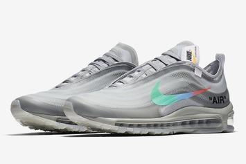 "Off-White x Nike Air Max 97 ""Menta"" Release Date Announced"