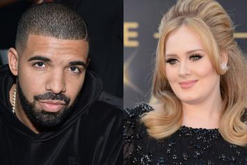 """Drake Is """"SHOOK"""" By Adele's Presence At Concert: """"I Love This Woman"""""""