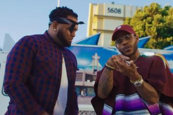 "Eric Bellinger Drops Off New Video For ""Pullin Up"" With AD"