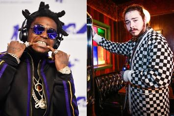Post Malone & Kodak Black Get Saucy At The Club