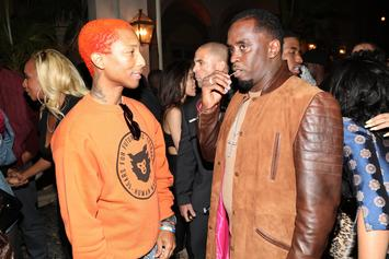 Diddy Has A Bosses-Only Meeting With Travis Scott, Pharrell & Teddy Riley