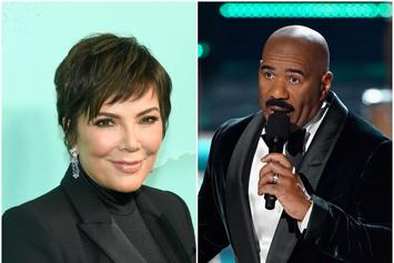 "Steve Harvey On Rumors He Is Leaving His Wife For Kris Jenner:""I'm Sick Of It"""