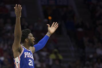 "76ers' Played ""Mo Bamba"" When Joel Embiid Scored On The Real ""Mo Bamba"""