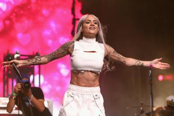 Kehlani Shows Off Her Growing Baby Bump