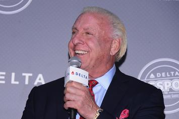 """Sauce Walka Aims At Ric Flair For """"Drip"""" Comment: """"All You Do Is Sniff Cocaine"""""""