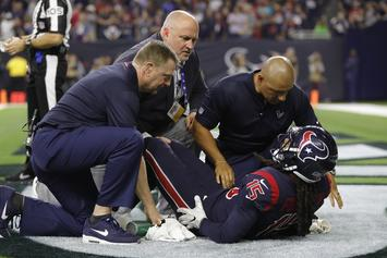 Texans' Will Fuller Tears ACL, Will Miss Rest Of NFL Season