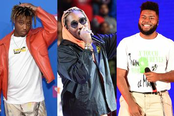 Future & Juice WRLD Debut At No. 2; Khalid Is No. 8 On Billboard 200