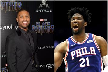 Michael B. Jordan Believes Joel Embiid Has Potential As An Actor