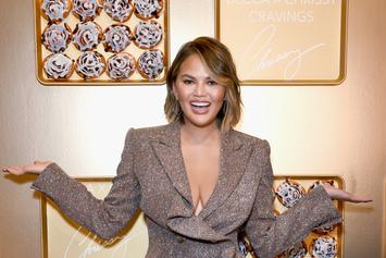 "Chrissy Teigen Claims To Have ""Asian Jungle Feet"""