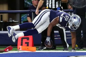 Dallas Cowboys' Amari Cooper Channels Markelle Fultz With TD Celebration