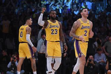 "LeBron James On Lonzo Ball: He's Still Learning ""How Great He Is"""