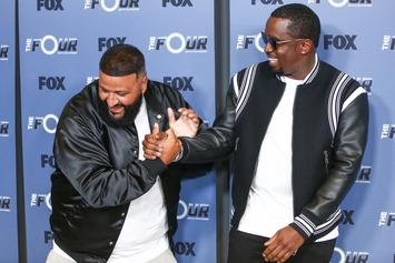 DJ Khaled Hits Birthday Dance Moves With Diddy