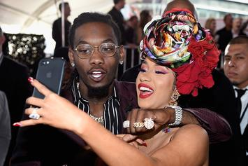 Instagram Gallery: Offset Showing Love To Wifey Cardi B