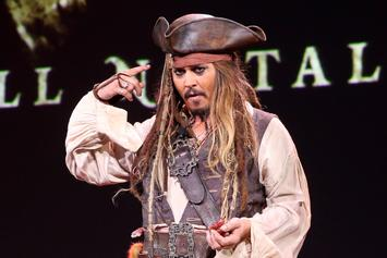 "Johnny Depp Has Been Cast Away From ""Pirates Of The Caribbean"""