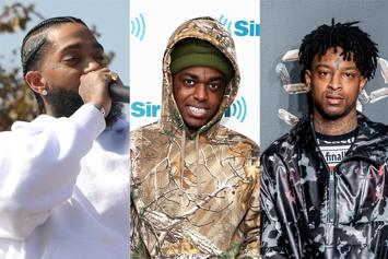 "21 Savage, Kodak Black & Nipsey Hussle Rep This Week's ""FIRE EMOJI"" Playlist"