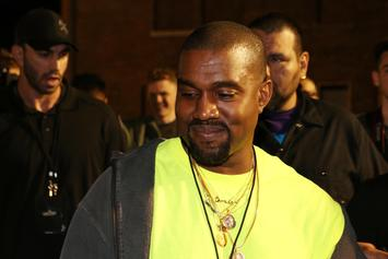 "Kanye West Giggles While Riding His ""Maybach"" Wheels"