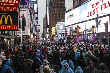 New York's Times Square Welcomes It's First Ever Cannabis Ad