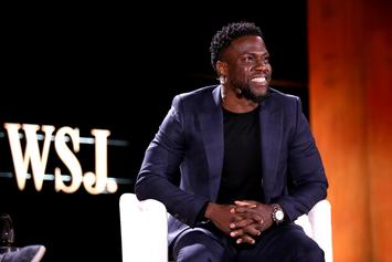 "Kevin Hart Gifts His Boys With Classic Cars To Celebrate End Of ""Irresponsible Tour"""