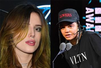 "Young M.A Catches Bella Thorne Thirsting For Her ""Hotel Companionship"""