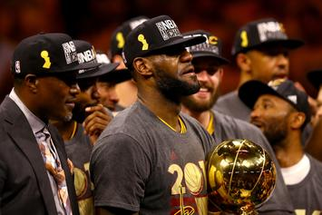 """LeBron James Says The Warriors Were """"F*cked Up"""" In The 2016 Finals"""