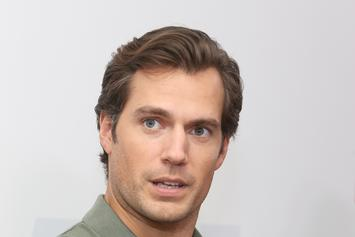 Henry Cavill Poses As Aquaman In Water With A Fork