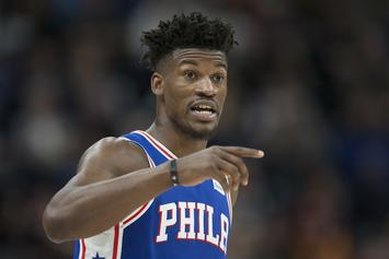 Jimmy Butler Downplays Argument With Sixers Coach Brett Brown
