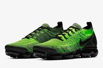 Nike Vapormax 2.0 Releasing In Neon Green And Black Colorway