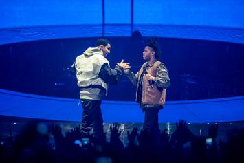 "The Weeknd Fans Are Convinced He Is Dissing Drake On ""Lost in the Fire"""