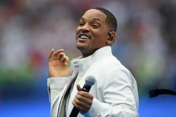 "Will Smith Hilariously Dances To ""N***as In Paris"" While In Paris"