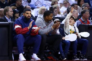 Minnesota Timberwolves Tell Drake Not To Wear Their Merch
