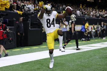"""Antonio Brown Goes On IG Live With Chad Ochocinco, Says """"My Phone Line's Open"""""""