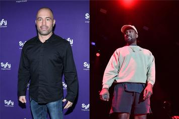 Joe Rogan Offers Update On Kanye West Interview, Shows Lookalike Toy
