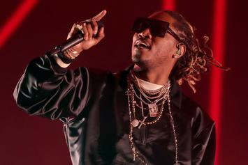 "Future Dyes His Hair Gray Ahead Of ""The WIZRD"" Release"