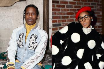"A$AP Rocky Shoots His Shot At Janelle Monae: ""Is She Single?"""