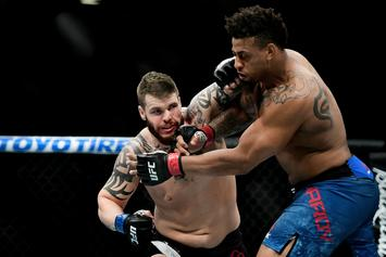 """Greg Hardy Says UFC Disqualification Was """"A Rookie Mistake"""""""