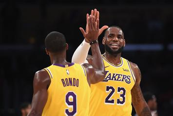 Rajon Rondo To Return To Lakers Thursday, LeBron James Still Out