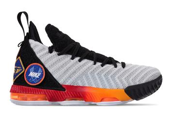 Space-Themed Lebron 16's To Release In Kids Sizes Next Week