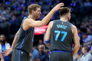 Dirk Nowitzki And Luka Doncic React To Kristaps Porzingis Trade