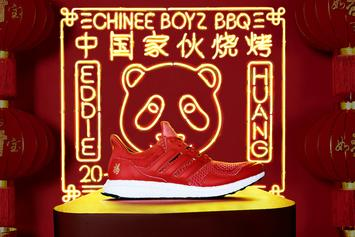 """Adidas x Eddie Huang Unveil """"Chinese New Year"""" UltraBoost"""