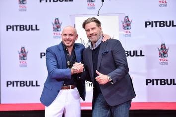 John Travolta Admits Pitbull Was His Inspiration To Go Bald