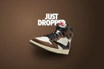 Travis Scott x Air Jordan 1 Unexpectedly Releases During Grammys: New Images