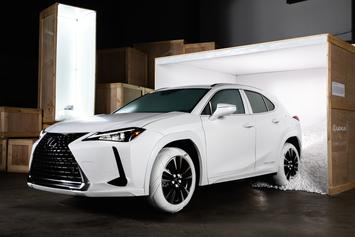 John Elliott, Lexus Unveil Nike-Inspired Tires For First-Ever Lexus UX