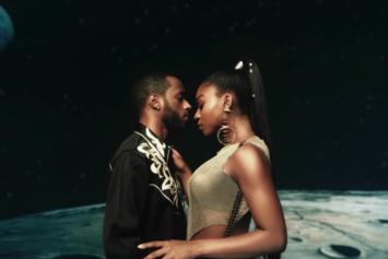 """Normani & 6LACK Take Us Through Space In """"Waves"""" Visual"""