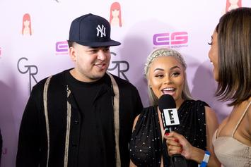 "Blac Chyna Says Tyga & Rob Kardashian ""Tricked"" Her Into Having Kids"