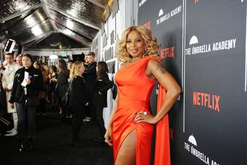 """Mary J Blige On """"Umbrella Academy"""" Stunts: """"I Was Pulling Glass Out Of My Face"""""""