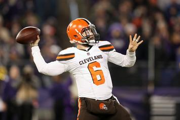 "Baker Mayfield Says ""We'll See"" About Browns 2019 Playoff Hopes"