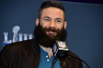 Julian Edelman's Beard Clippings Are Going For Over $2000 At Auction