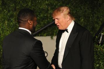 50 Cent Was Offered $500K To Attend Donald Trump's Inauguration