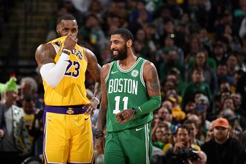 "Kyrie On Apologizing To LeBron: ""A Step For Me To Move Forward In My Life"""