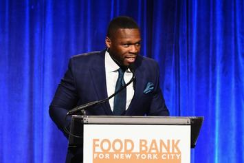 """50 Cent Uses Emanuel Gonzalez To Sell His """"Crooked Cop"""" Show """"The Oath"""""""